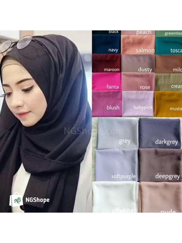 Jilbab Kerudung Pashmina Diamond Hijab Pasmina Diamond Italiano