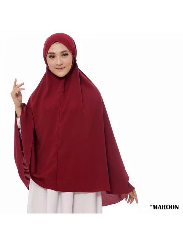 Jilbab Hijab Kerudung Bergo Tali Instan Khimar Laila Syari Jumbo Murah
